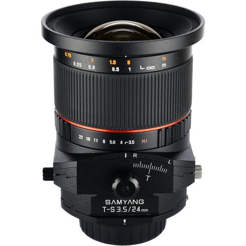 Samyang 24mm f/3.5 ED AS UMC Tilt-Shift Lens for Nikon
