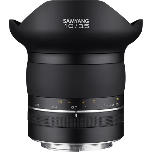 Samyang XP 10mm f/3.5 Lens for Canon EF