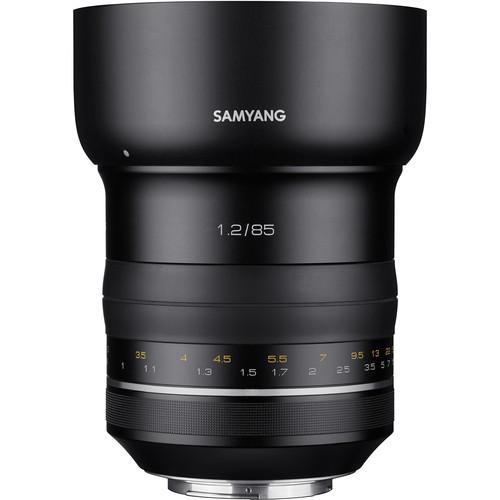 Samyang XP 85mm f/1.2 Lens for Canon EF