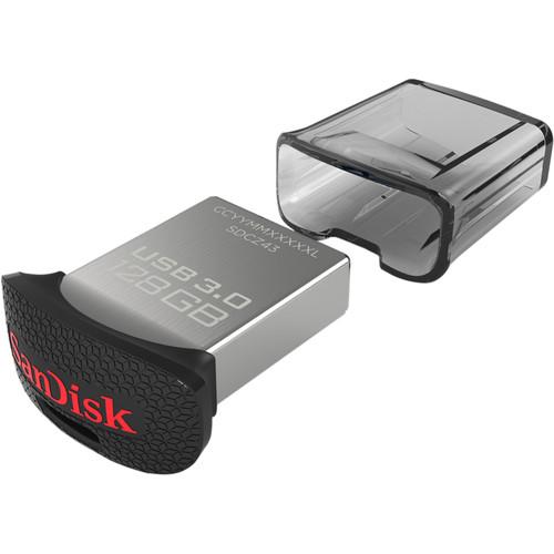 SanDisk 128GB CZ43 Ultra Fit USB 3.0