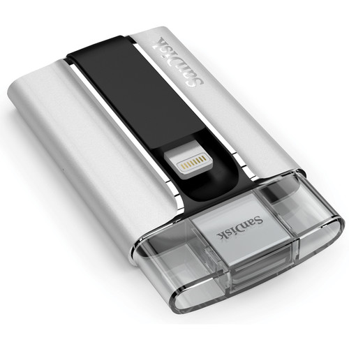 SanDisk iXpand Flash Drive for iPhone and iPad (64GB)