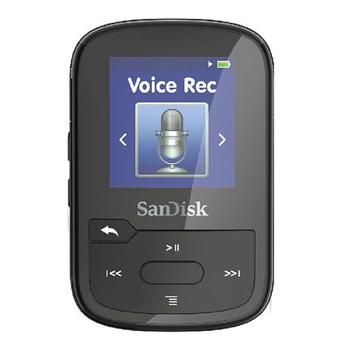 SanDisk 16GB Clip Voice (Black)