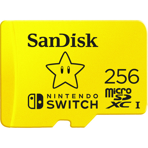 SanDisk 256GB UHS-I microSDXC Memory Card for the Nintendo Switch