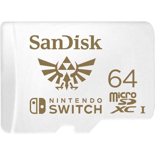 SanDisk 64GB UHS-I microSDXC Memory Card for the Nintendo Switch