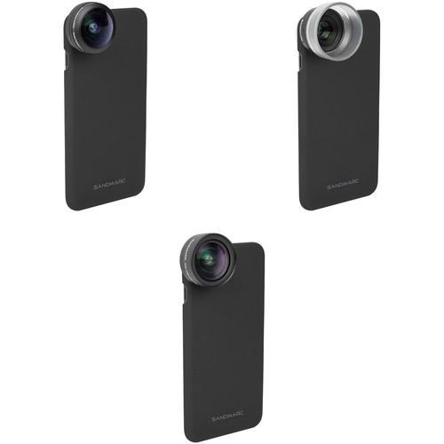 SANDMARC Fisheye, Macro, and Wide Lens Kit for the iPhone X