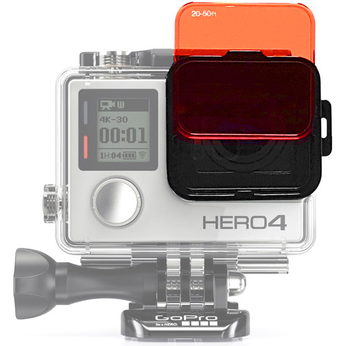 SANDMARC Aqua Dive Filter Set for HERO4/3+ (5-Pack)