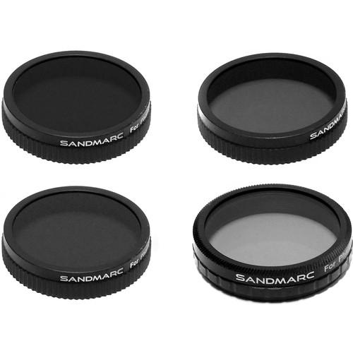 SANDMARC Aerial Filter Set for DJI Phantom 3 Standard (4-Pack)