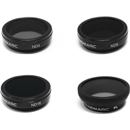 SANDMARC Aerial Filter Set for GoPro HERO4/3+ (4-Pack)