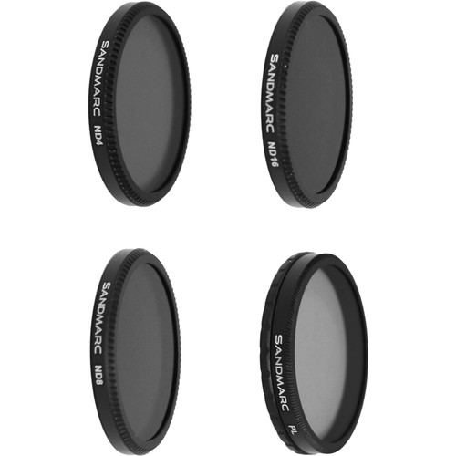 SANDMARC Aerial Filter Set for DJI Inspire 1 / Osmo (4-Pack)