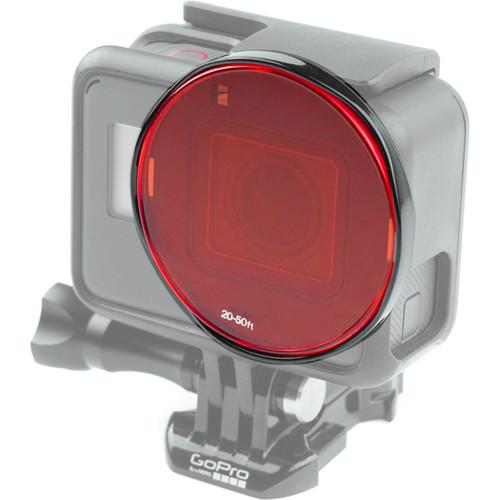 SANDMARC Aqua Dive Filter Set for HERO6/HERO5 Black (5-Pack)