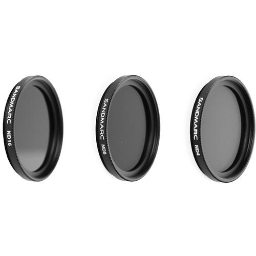 SANDMARC Aerial ND Filter Set for GoPro HERO6/5 Black (3-Pack)