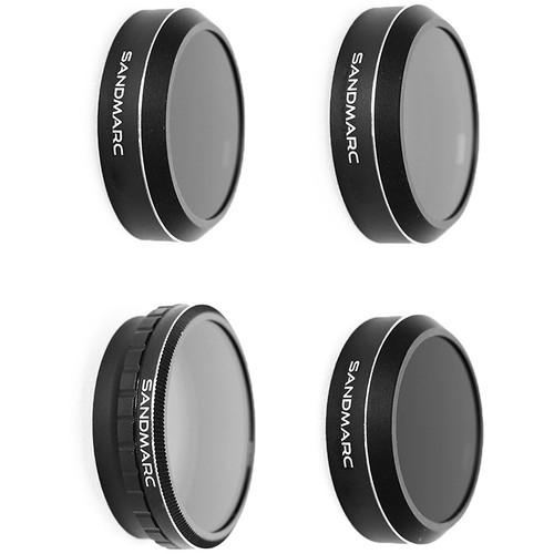SANDMARC Pro ND-PL Lens Filter Kit for DJI Phantom 4 Pro (Set of 4)