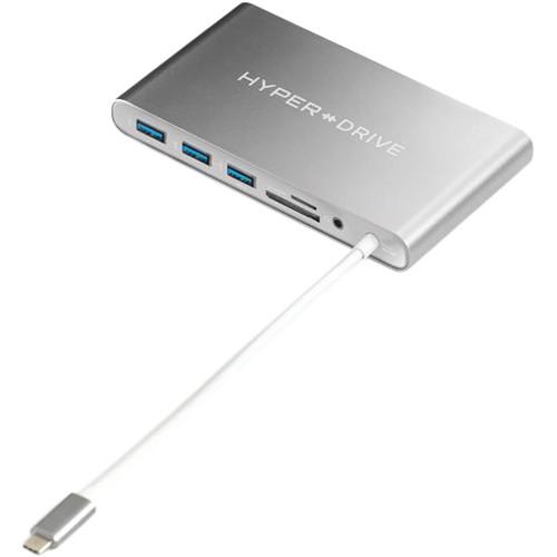 Sanho HyperDrive Ultimate 11 Port USB 3.0 Type-C Hub (Gray)