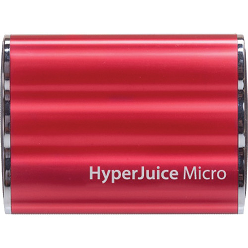 Sanho HyperJuice 3600mAh Micro External Battery (Red)