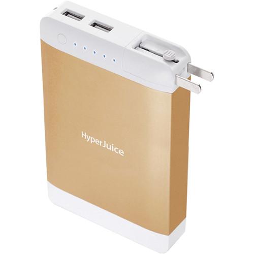 Sanho P18 HyperJuice Plug 18000mAh Dual USB Battery (Gold)