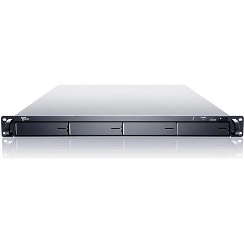 Sans Digital EliteNAS EN104L+B 1U 4-Bay NAS + iSCSI Rackmount Server (Black)