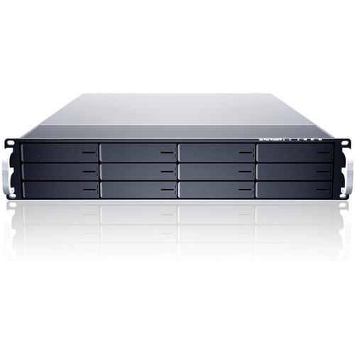 Sans Digital EliteNAS EN212L+BXE 2U 12-Bay 64-Bit NAS Unified Storage Rackmount