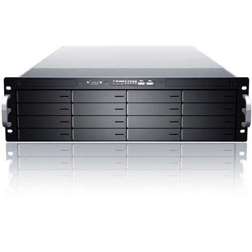 Sans Digital EliteNAS EN316L+BXE 3U 16-Bay NAS + iSCSI + FC Target Enclosure (Black)