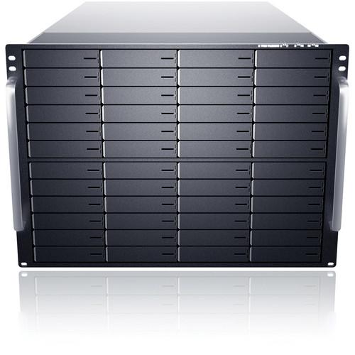 Sans Digital EliteNAS EN850L+BXE 8U 48-Bay NAS + iSCSI + FC Target Enclosure (Black)