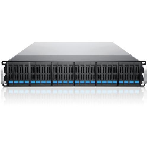 Sans Digital EliteSTOR 24-Bay 6G SAS/SATA to SAS JBOD with SAS Expander Rackmount