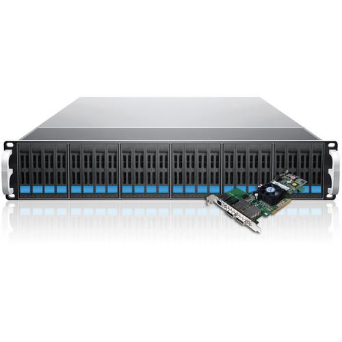 Sans Digital EliteSTOR ES224X6+BSHP 24-Bay SAS/SATA RAID PCIe Rackmount Chassis