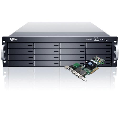 Sans Digital EliteSTOR ES316X6+BHP 3U 16-Bay SAS/SATA RAID PCIe 2.0 x8 Rackmount
