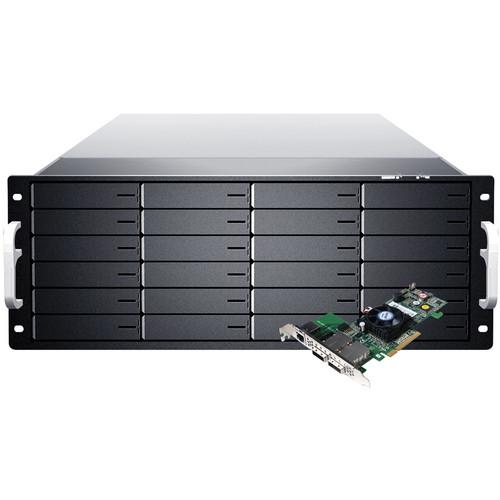 Sans Digital EliteSTOR ES424X6+BHP 4U 24-Bay PCIe 2.0 x8 Rackmount