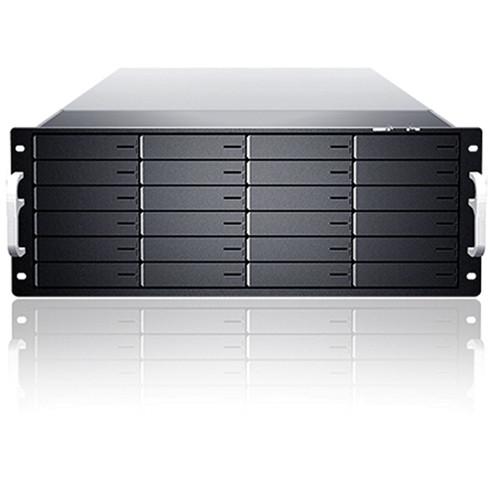 Sans Digital EliteSTOR ES424X6+BS 4U 24-Bay 6G SAS/SATA with SAS Expander Rackmount