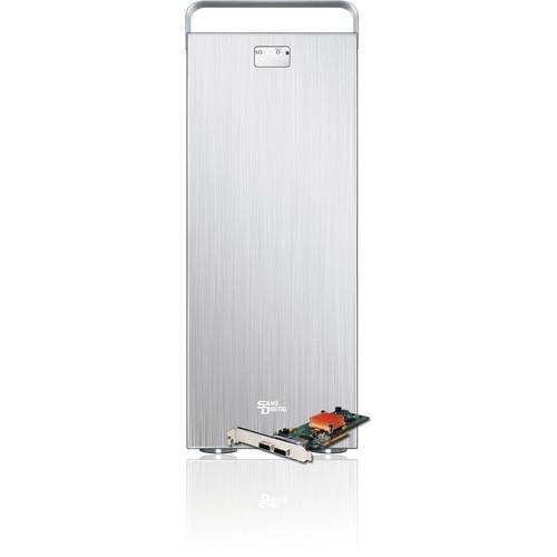 Sans Digital MobileSTOR MS12X6+HG 12-Bay 6G SAS/SATA RAID Expander Tower (Silver)