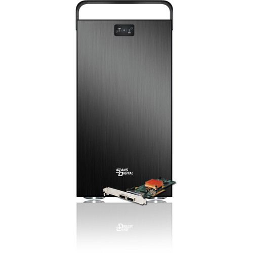 Sans Digital MobileSTOR MS8X6+BHG 8-Bay PCIe 2.0 x8 SAS Expander Tower (Black)