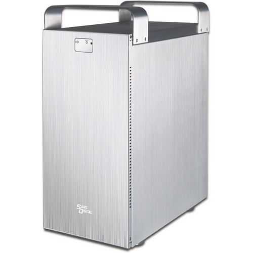 Sans Digital MobileSTOR MS8X6+ 8-Bay SATA/SAS to 6G SAS JBOD Enclosure (Silver)