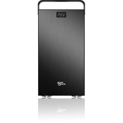 Sans Digital MobileSTOR MS8X+B 8-Bay SAS/SATA JBOD Storage Enclosure (Black)