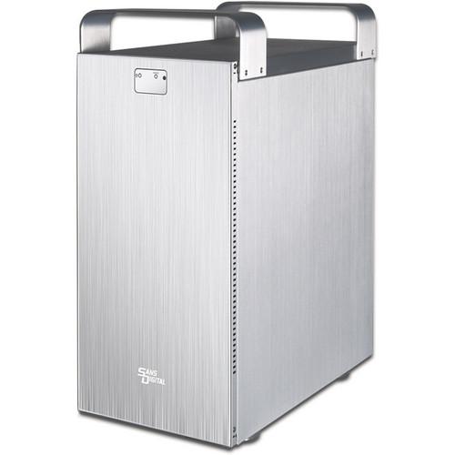 Sans Digital MobileSTOR MS8X+ 8-Bay SAS/SATA to mini-SAS SATA Enclosure (Silver)