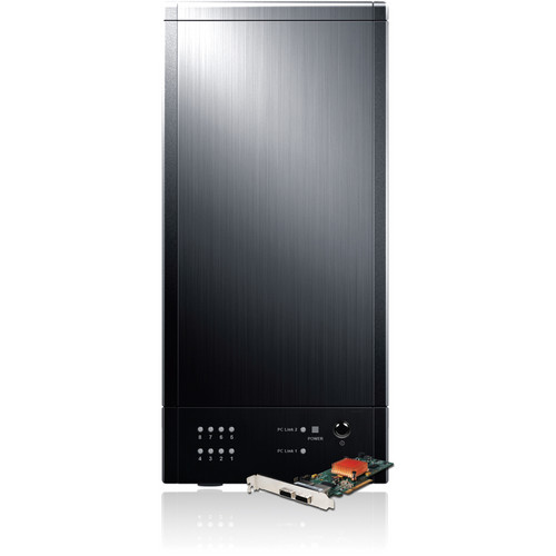 Sans Digital TR8X+BHG TowerRAID 8-Bay SAS/SATA Tower (Black)