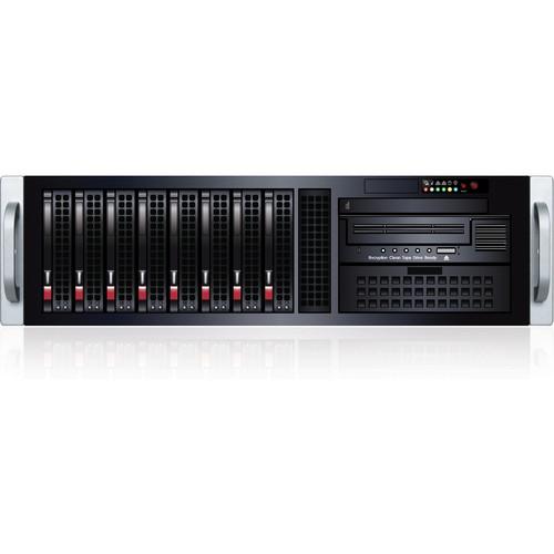 Sans Digital Video Asset Management VA308-8E 7TB Rackmount with LTO-5 Tape Drive