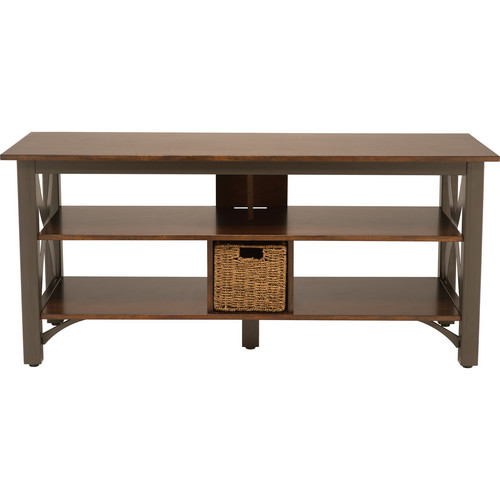 SANUS BFV353-GM1 Basic 5-Shelf TV / AV Stand (Gunmetal Finish)