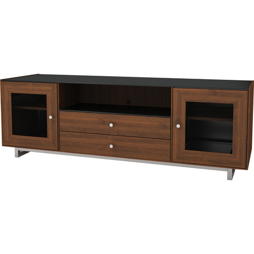 "SANUS Cadenza 75 AV Stand for TVs up to 80"" (Natural Walnut)"