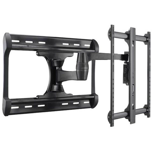 """SANUS HDpro LF228 Full-Motion Wall Mount for 37 to 65"""" Flat-Panel Displays (Black)"""