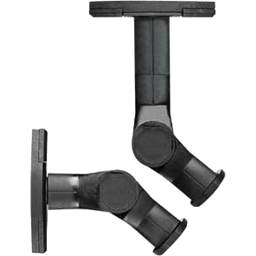 SANUS SWMB-01 Universal Speaker Mounts (Pair, Black)