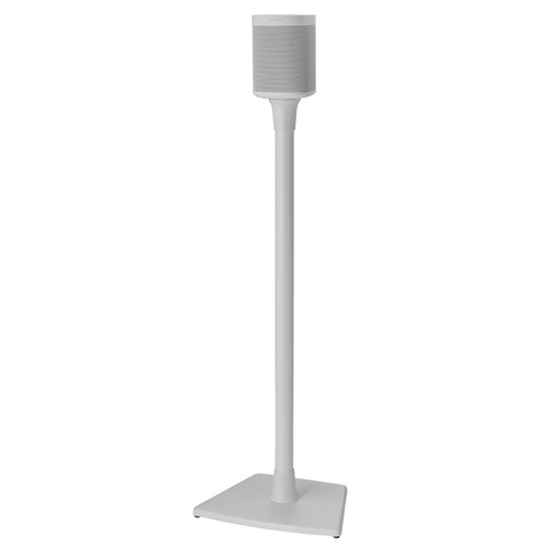 SANUS WSS21 Wireless Speaker Stand for the Sonos One, PLAY:1 & PLAY:3 (White, Single)