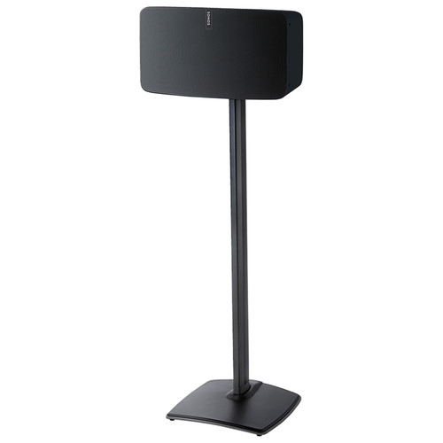SANUS WSS51 Wireless Speaker Stand for the Sonos PLAY:5 (Black, Single)