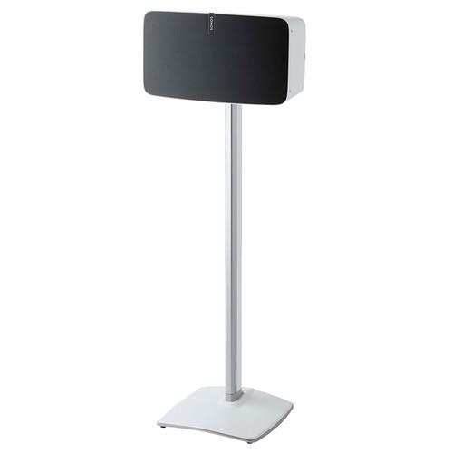 SANUS WSS51 Wireless Speaker Stand for the Sonos PLAY:5 (White, Single)
