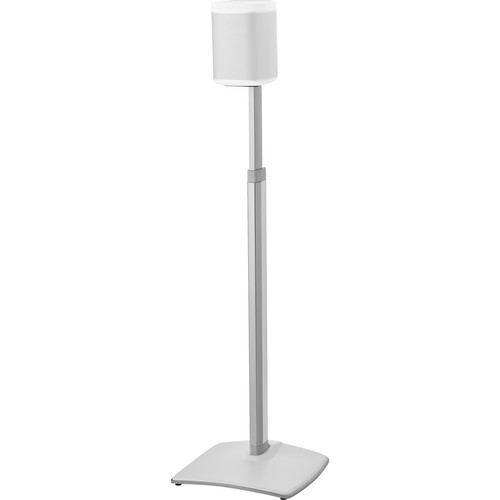 SANUS WSSA1 Adjustable Speaker Stand for the Sonos One, PLAY:1, and PLAY:3 (White, Single)