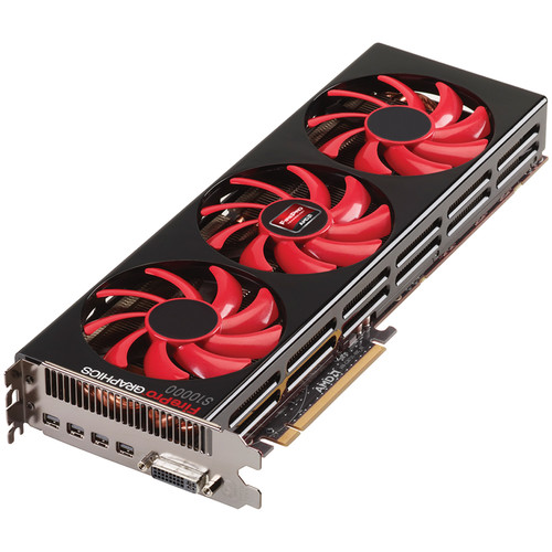 Sapphire FirePro S10000 Server Graphics Card (Active Cooling, 6GB)