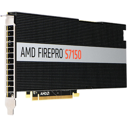 AMD Firepro S7150 Active Cooling Multiuser GPU