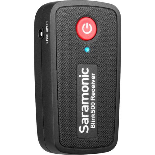 Saramonic Blink 500 RX Dual-Channel Camera-Mount Digital Wireless Receiver (2.4 GHz)