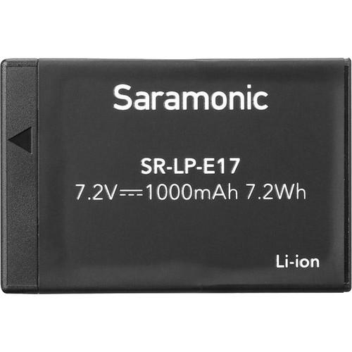 Saramonic Rechargeable 7.2V/1000mAh Li-Ion Battery for VmicLink5,VmicLink5 HiFi/LP-E17(Canon EOS M3/750D/760D)