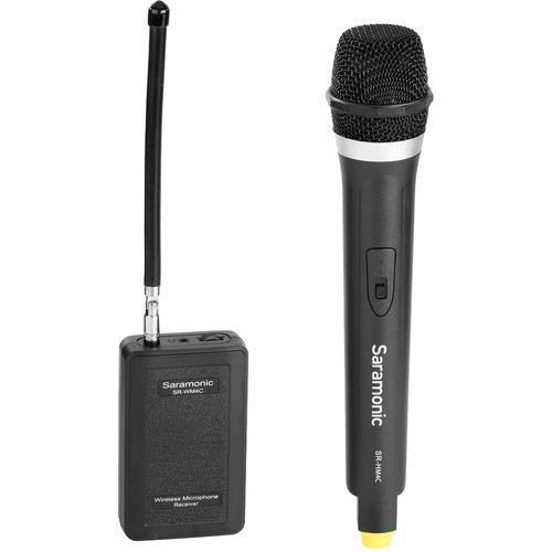 Saramonic Wireless VHF Handheld Microphone System with Portable Camera-Mountable Receiver