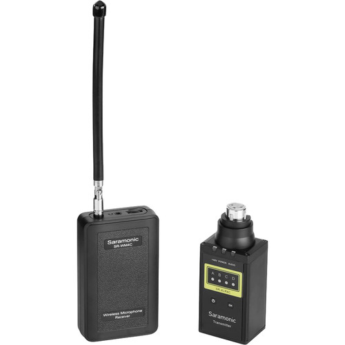 Saramonic Wireless VHF XLR Plug-On Microphone System with Portable Camera-Mountable Receiver
