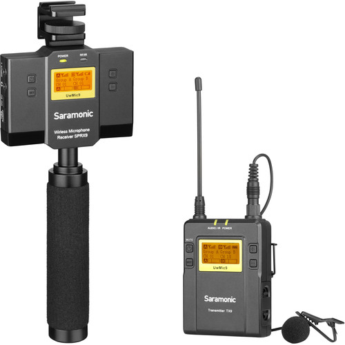 Saramonic 1-Person UHF Wireless Lavalier Microphone System (514 to 596 MHz)
